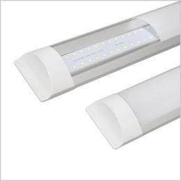 Luminárias fluorescentes de teto on-line-Luz À Prova de Explosão à prova de Tri-Light Tubo Batten 2ft 3ft 4ft LED Tubo Luzes Substituir Teto Luminária Fluorescente 20 W 30 W 40 W