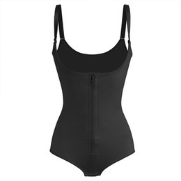 Wholesale wholesale body suits - Slimming Body Shaper Woman Body Shaper Abdomen Without Hips Corset Sport Underbust Waist Trainer Body Suit