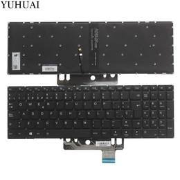 Laptop flex online-NUEVO teclado SP para laptop LENOVO Flex 4 Flex 4-1570 4-1580 teclado español con luz de fondo