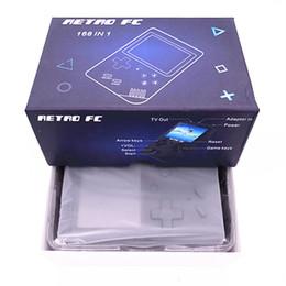 console de videogame portátil android Desconto CoolBaby RS-6 Atualizado Portátil Retro Mini Handheld Game Console pode armazenar 168 jogos de 8-Bit de 3,0 polegadas Color LCD Game Player Para FC jogo
