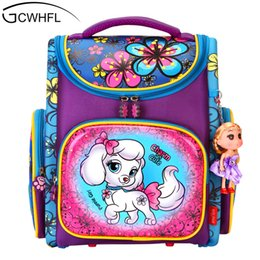 1eca454f348c Orthopedic Backpacks Children Primary School Bags Girls Cartoon 3D Backpack  School Knapsack Boy Kids Book Bag Mochila Escolar Y18100804