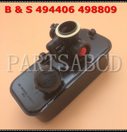 Wholesale fuel carburetor - Carburetor With Fuel Tank FOR Briggs Stratton 10A900 10G900 10H900 10T500 10 CID Carburetor 494406 498809