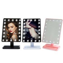 2019 подставка для освещения LED  Mirror Beauty Cosmetic Make Up Tool With Illuminated Light Mirrors Desktop Stand Exquisite And Elegant Appearance скидка подставка для освещения