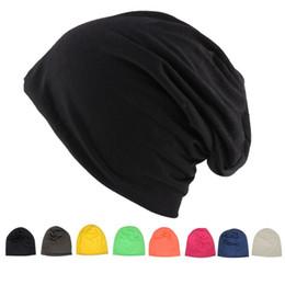 Argentina Sombreros Skullie Knit Sombreros de color liso Unisex Hombre Mujer Gorros Sombrero de cobertura Sombreros de tela de algodón suave Gorro de piel de bebe supplier solid color cotton fabric Suministro