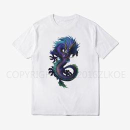 t-shirt de pp Promotion Dragon T Shirt Hommes Crâne Loup Imprimé T Shirts Hommes Hommes Top Qualité T Shirt Hip Hop Hommes O - Cou Tops À Manches Courtes Tees Pp