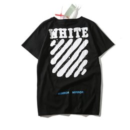 Wholesale Men Clothing Heavy - Black Tee Heavy OFF t shirt men women harajuku hip hop swag clothes kanye yeezus streetwear top WHITE tees HFLSTX059