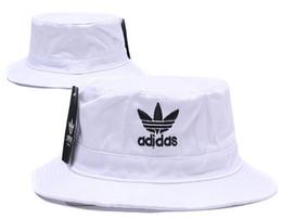Brand Designer AD Letter Bucket Hat For Mens Womens Foldable Caps Fisherman  Beach Sun Visor Sale Folding Man casquette Bowler Cap 1efccd2f18b7
