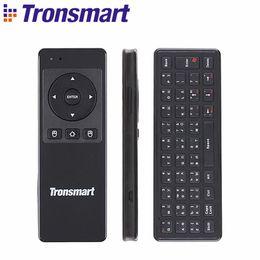 Russina / versão em inglês tronsmart tsm-01 teclados sem fio jogo air mouse 2.4 ghz para laptop tablet android tv pc caixa cheap tronsmart tv de Fornecedores de tv tronsmart