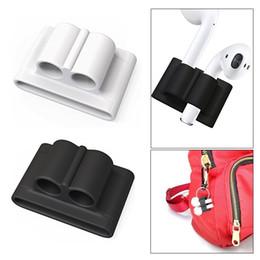 Silicone Titulaire Anti-perdu pour AirPods Titulaire Étui en silicone anti-perte de sangle portable pour Apple Airpods Accessoires ? partir de fabricateur