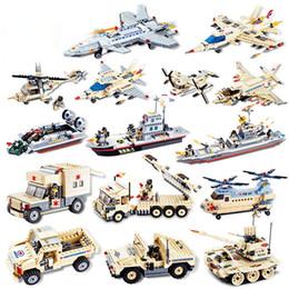 Canada Modèle de blocs de construction Modèle militaire de lutte contre le terrorisme Minifigs Assembler le cuirassé de char de combat de bricolage Jouets pour la petite enfance Offre