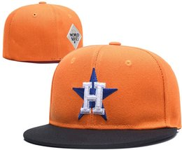 Wholesale hats h - 2018 New Fashion bone Astros H letter Baseball caps top quality Hip-hop Hat For Men Women Fitted Hats