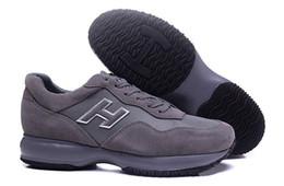 2018 Италия интерактивные кроссовки мужчины онлайн продажа женщины кожа отдых Scarpe последние поступления H повседневная Uomo тренеры высокое качество от Поставщики повседневные кроссовки онлайн