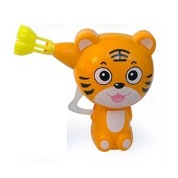 Wholesale Toy Bubble Guns - Baby Kids Cartoon Animal Model Soap Water Bubble Gun Blower Outdoor Toy Gift