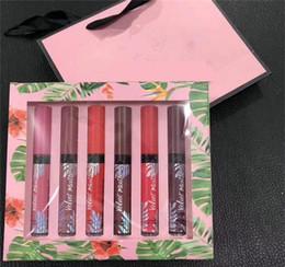 New Secret Veludo Matte lip gloss set caixa 12 pcs lipgloss com saco de papel para as mulheres frete grátis supplier lip paper de Fornecedores de papel labial
