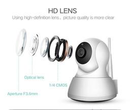 MINI Cámara IP 1280 * 720 Audio bidireccional Control remoto de la cámara Bebé inteligente WIFI Cámara HD Infrarrojo IP inalámbrico Monitoreo NO02 desde fabricantes