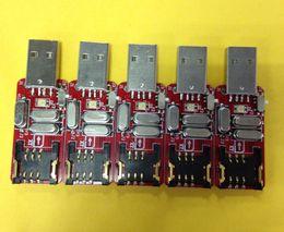 Programas de tarjetas online-Dongle USB 2.0 para desbloquear la tarjeta SIM Actualice la versión del programa / código iccid para rsim r-sim 12 desbloquear tarjeta sim heicardsim GPPLTE