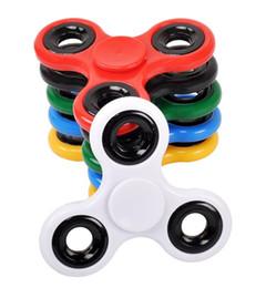 EDC main triangulaire spinner jouet pour l'anxiété de décompression jouets enfants adulte gyroscope doigt de main spirale tri-spinner plastique fidget jouet ? partir de fabricateur