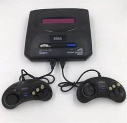 sega card Coupons - 2018 Sega Genesis MD compact 2 in 1 dual system game console catridge rom support original game card