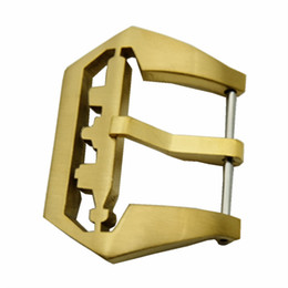 Wholesale 26mm panerai - 22   24   26MM Bronze Watch Screw Buckles Watch Clasp For PAM For Any Watches + Tool