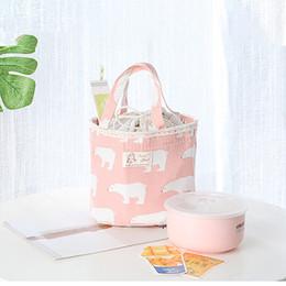 Caja de almuerzo con aislamiento térmico Bolsa de refrigerador con bolsa de Bento Bolsa de almuerzo Congelador de contenedor Bolsa bolsa feminina desde fabricantes