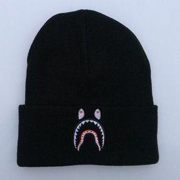 Wholesale Beanie Embroidery - 2018 Fashion Beanie Hats for Men Women Knitted Winter Caps casual Beanies Embroidery Winter sport Caps
