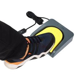 USB Single Foot Switch Control eine Taste angepasst Computer Tastatur Aktion Pedal grau mit gelb von Fabrikanten