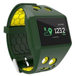 Парный телефон онлайн-Color Screen Smart Wristband IP68 Blood Pressure Heart Rate Monitor Intelligent Bracelet For Android iOS Phone Couple