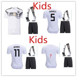 Wholesale Cotton Waterproofing - 2018 Kids Germany soccer 2018 MULLER OZIL KROOS HUMMELS WERNER REUS SANE jerseys camisetas de futbol Deutschland