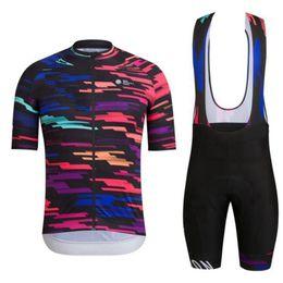 Kit de equipe curto on-line-Novo estilo de ciclismo kit 2018 UCI Pro equipe de ciclismo de corrida jersey e calções set Ropa ciclismo Verão terno de manga curta de equitação