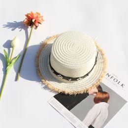 Cappello di paglia estate femminile piccolo puro e fresco e lo shopping per  il tempo libero è impedito di crogiolarsi in cappello da sole cappello da  ... fac158fffdfa