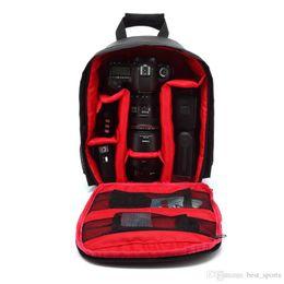 Bolsa de cámara multifuncional online-2018 Camera Bag Thicken Interlayer PC Impermeable Aire Permeable a prueba de golpes Embalaje Resistente al desgaste Multifuncional Venta caliente LJJN33