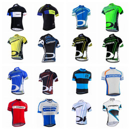 Wholesale Blouse White Blue - ORBEA team Cycling Short Sleeves jersey Simple ventilation thin riding line mountain Road vehicle riding short sleeve blouse Q42013
