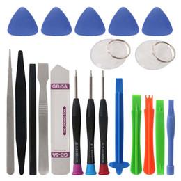 Discount iphone diy kit - 21 in 1 Mobile Phone Repair Tools Kit Pry Opening Screwdriver Precision Magnetic Screw Driver DIY Repairing Tool Set for iphone