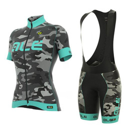 Wholesale Ale Cycling Jerseys - Cycling Jersey 2018 Pro team ALE Bicycle Womens Competition riding wear ropa ciclismo bicycle riding wear short sleeve Jersey sets