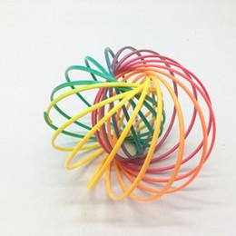 2019 esercizio di plastica Giocattoli di flusso Braccialetto magico Anello di flusso Toroflux bambini decompressione di plastica esercizio artefatti trucchi giocattolo per i bambini Regali per bambini B esercizio di plastica economici
