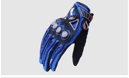 Мотоцикл перчатки мотогонки мотоцикл мотокросс езда на велосипеде велосипед glvoes черный красный синий оранжевый MCS-23 cheap motorcycle gloves blue от Поставщики перчатки для мотоциклов синие