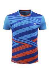 Wholesale table tennis shirts - 2018 new styles table tennis jersey Badminton T-Shirts