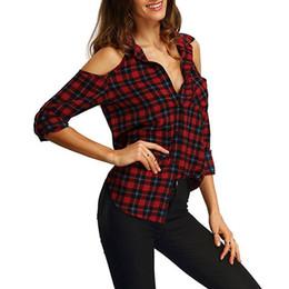 f6eb6aff73e5 Distribuidores de descuento Camisa De Mujer A Cuadros Verde   Camisa ...