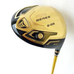 driver di golf nuovo Sconti Nuovo autista di golf HONMA S-03 a 4 stelle con autista oro club da 9,5 o 10,5 loft mazza da golf con conducente Graphite Golf shaft spedizione gratuita