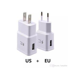 android зарядное устройство uk Скидка Качество OEM быстрое зарядное устройство стены зарядные устройства 9.0V1.67А 5.И 0v2.0А быстрой зарядки адаптер США ЕС разъем для Samsung Галактики С6 С7 С8 плюс NOTE78 45