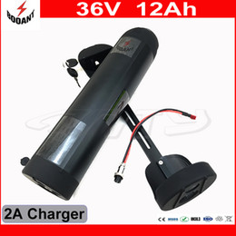 42v 2a charger 2018 - Electric Bicycle Battery 36V 12Ah Water Bottle Style For eBike Motor 800W With 42V 2A Charger 30A BMS Lithium eBike Battery 36V