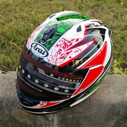 2019 capacetes de pontos Chegada nova Marca capacete da motocicleta MOTO Kart corrida capacete rosto completo homens motociclistas capacete DOT M / L / XL / XX 8 capacetes de pontos barato