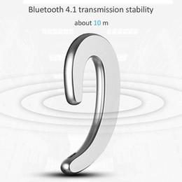 Модели bluetooth-гарнитур онлайн-2018 новые модели plosion нет приемника S-103 Bluetooth-гарнитура длительным временем ожидания наушники-вкладыши Bluetooth наушники долгосрочные нет уха боль Спорт
