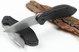 2019 faca lidar com branco 2018 nova kershaw 1605 rápido assistida dobrável aberto faca 8cr13 branco titanium blade handle handle edc pocket facas com caixa de varejo faca lidar com branco barato