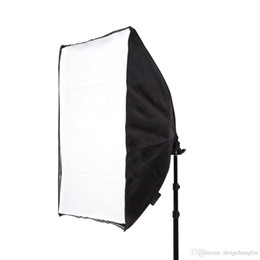 Canada 50 * 70 CM Photographie Studio Filaire Softbox Lampe Titulaire avec E27 Socket pour Studio Éclairage Continu Avec Sac de Transport Offre