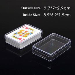 Прозрачные играя карточки пластичная коробка PP коробки хранения пакуя случай высокомарочный supplier plastic playing card cases от Поставщики пластиковые карточные коробки