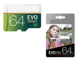 Wholesale Galaxy Smartphones - HOT selling 256GB 128GB Micro SD Memory Card 64GB EVO Select 100MB s Class 10 for Smartphones Camera Galaxy Note 7 8 S7 S8