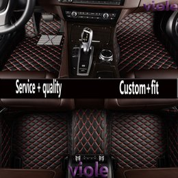 "Wholesale Bmw Floor - ""Violo Car floor mats for BMW F10 F11 F15 F16 F20 F25 F30 F34 E60 E70 E90 1 3 4 5 7 Series GT X1 X3 X4 X5 X6 Z4 5D car-styling carpet"