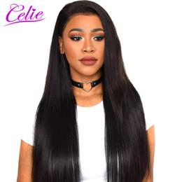 CELIE Cheveux Raides Bundles de Tissage de Cheveux Brésiliens 10-30 Pouces Humains Remy Extension Aucun Enchevêtrement Sans Rejet ? partir de fabricateur