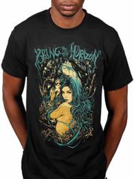 8abeff0e06a0 Official Bring Me The Horizon Forest Girl New Graphic T-Shirt Band Merch  Metal Hip Hop men tshirt rock Unisex t shirt Fashion Tops